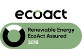 EcoAct Renewable Energy Stamp with logo